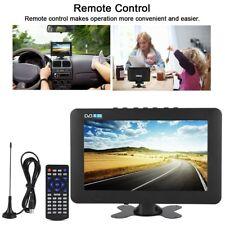 9 inch, Tragbarer Fernseher, 1080P, DVB-T/T2, USB, ATV, TV, Camping, LKW, Auto