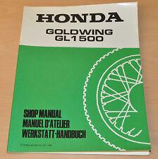 Werkstatthandbuch HONDA GL1500 Goldwing Stand 1988 Nachtrag