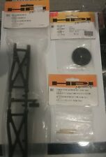HPI Firestorm rear suspension arm spur gear suspension shaft NIB