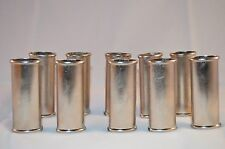 Wholesale Lot of 10 Ten Blank Metal Bic Lighter Cover Case Holder Silver Color