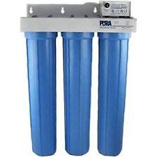 Pura UV (15730131) UV20-3 CB20XSD 10 Micron Carbon Block/5 Micron Sediment 8 ...