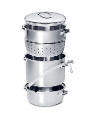Mehu-Liisa 11 Litre Stainless Steel Steam Juicer ~NEW - MHL11, StainlessSteel
