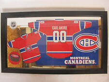 Montreal Canadiens NHL Hockey Personalized Jersey Wall Mirror Bar Sign Andre