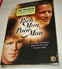 Rich Man, Poor Man: The Complete Collection (DVD, 2010, 9-Disc Set), NEW,SEALED!