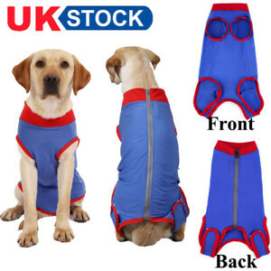 Pets Surgery Post Operative Clothes Cat Recovery Suit Cotton Dog Care Clothing