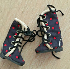 red and black dotty boots for Blythe doll, brand new, from Ixtee