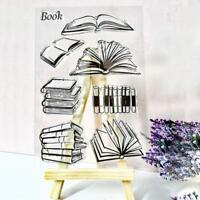 Buch Silikon Klar Transparent Briefmarken Dichtung DIY Scrapbooking Fotoalbum