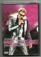 █ JOHNNY HALLYDAY : DVD NEUF - 1ére édition  n° 981 043 0 - PARC DES PRINCES '03