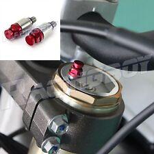 Fork Air Bleeder Pressure Relief Valves Motocross for Honda CR CRF 250 450 CR125