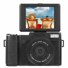 Digital Camera Vlogging Camera Full HD 1080P 24MP Camcorder 3.0 Inch Flip Screen