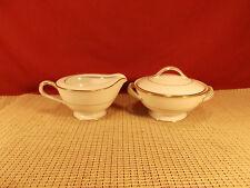 Noritake China Dawn 5930 Pattern Sugar & Creamer Set