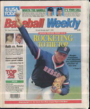 Roger Clemens Boston Red Sox USA Today Baseball Weekly April 1-7 1992