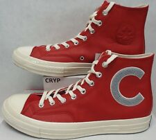 6e1ade723cc New Mens 11.5 Converse CTAS 70 Hi Big C Enamel Red Leather Shoes  100  159677C