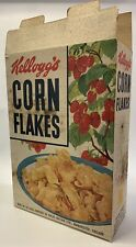 More details for vintage 1950s kellogg's cereal large shop advertising display box corn flakes
