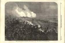 1855 attacco su SARDO PICCHETTO durante la battaglia di tchernaya