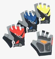 LCF Unisex Adult Road Mountain Cycling Bike Half Gloves w/ 3D Gel Padded Palm