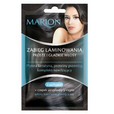 Marion Hair Lamination Treatment Liquid Keratin with Hair Cup 2x10ml