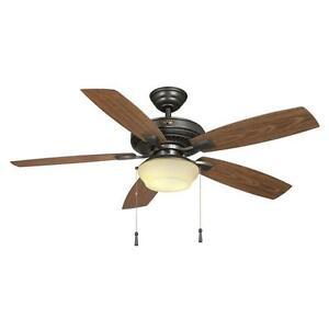 Gazebo II 52 in. Indoor/Outdoor Natural Iron Ceiling Fan Parts