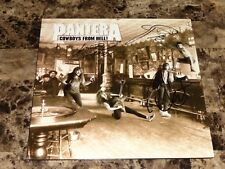 Pantera Rare Signed Cowboys From Hell Record Vinnie Paul Rex Brown Phil Anselmo
