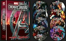 Marvel Cinematic Universe 23 Movie Movies Avengers Collection Blu-ray 8 Disc Dvd