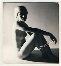 NACKTE BLONDE JUNGE FRAU / BLOND YOUNG NUDE WOMAN * 60s Professional ? Photo #2
