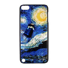 Starry Night Moon Tardis Doctor Dr Who Hard Case Cover for iPod Touch 5 5th gen