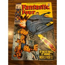 FANTASTIC FOUR  # 95    NOT CGC RATED  FINE    6.0   1ST SERIES SILVER  AGE 1970