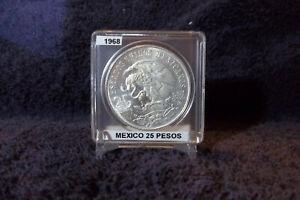 1968 MEXICAN 25 PESO 0.72 SILVER