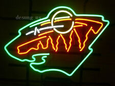 "New Minnesota Wild Hockey Beer Light Lamp Neon Sign 24""x20"""