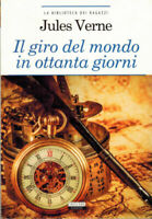 Il giro del mondo in ottanta giorni di J. Verne Libro Nuovo Crescere Edizioni 80