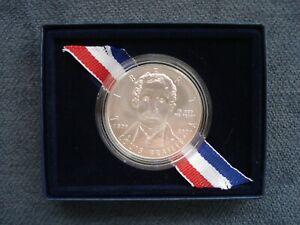 2009 USA - 1 Dollar - Louis Braille Bicentennial - .900 Silver Coin w COA