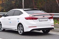 (Fits: Hyundai 2017+ Elantra Avante AD) Onzigoo Rear Trunk Lip Spoiler Wing