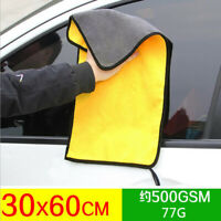 Car Wash Microfiber Towel Auto Cleaning Drying Cloth Hemming Super Absorbent L^O