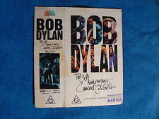 BOB DYLAN - 30th ANNIVERSARY CONCERT CELEBRATION VIDEO COVER SLEEVE (No video)