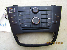 11 - 13 BUICK REGAL TURBO DASH CD PLAYER RADIO FACE PLATE CONTROLLER 22869140