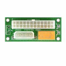 ATX 24Pin Fuente De Alimentación A Molex Dual PSU conector de la tarjeta de adaptador de sincronización de arranque