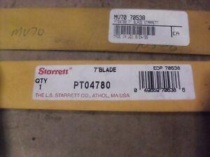 """Starrett 7"""" Protractor Blade PT04780"""