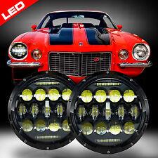 LED Headlight Headlamp Bulb Lamp Upgrade for Chevy Camaro 1967-1981