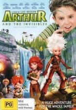 Arthur And The Invisibles DVD Madonna David Bowie Mia Farow BRAND NEW RELEASE R4