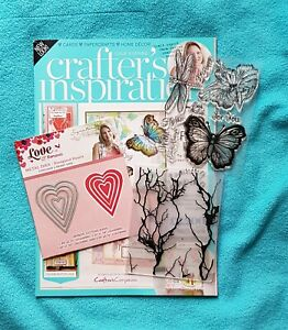 Crafter's Inspiration Magazine, Issue 9 with free gifts