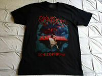 New Sepultura schizophrenia tour kreator Black Unisex T-Shirt S-2345XL DF411