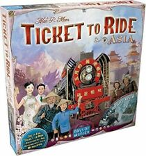 Ticket To Ride Expansión Asia Mapa Colección Expansión