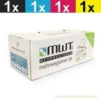 4x MWT Eco Toner Sostituita Epson C13S050602 C13S050603 C13S050604 C13S050605