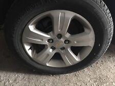 Set 2013 Chevrolet Captiva OEM Factory 22928853 OE Wheels Rims Tires 235/60/17