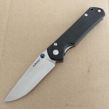 Sanrenmu LAND 910 PLUS Messer 12C27 Stahl Metallgriff Kugellager G10 Griff