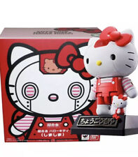Sanrio Chogokin Hello Kitty Robot Red Bandai Trinkets Plush