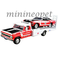 ACME 51149 1968 FORD RAMP TRUCK & 1969 TRANS AM MUSTANG #15 1/64 PARNELLI JONES