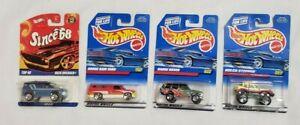 "HOT WHEELS 1997 & 2007 Mattel ""Baja Breaker/Dodge Ram/Range Rover/Gulch Stepper"""