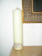 WENZEL CHAPEL / CHURCH / PILLAR / WEDDING  CANDLE 275mm x 70mm diam 103 Hour
