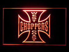 J600R West Coast Choppers For Man Cave Band Room Display Light Sign